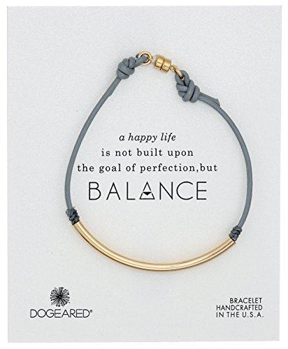 Dogeared V2GT18D201404 Parent Balance Bangle Bracelet