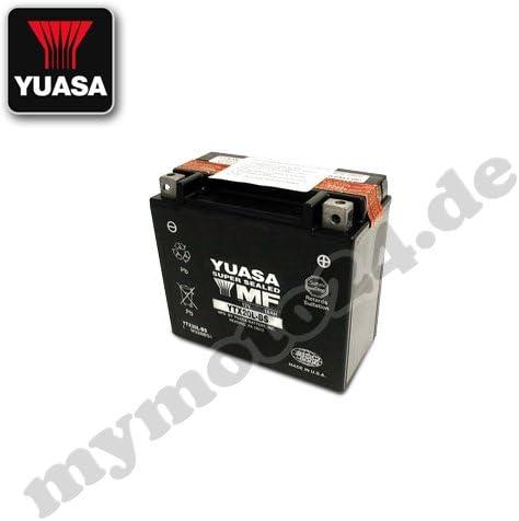 12/V//18ah dimensioni: 175/x 87/x 155 Yuasa YTX20L-BS batteria
