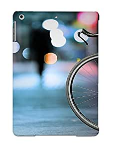 Christmas Gift - Tpu Case Cover For Ipad Air Strong Protect Case - Bicycle Design