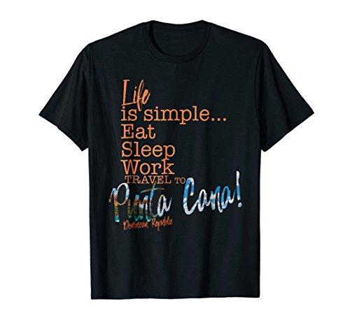 (Punta Cana Dominican Republic Sunset Souvenirs T Shirt)