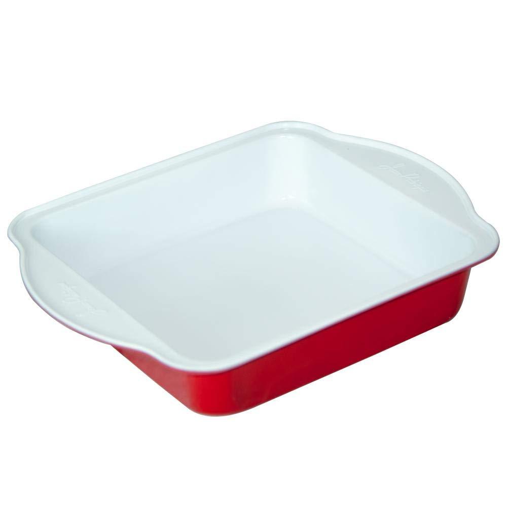 Jean Patrique Eco-friendly Eco-Cook Non-Stick Ceramic Square Cake Pan - 27cm