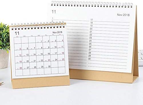 Futurelast 2018-2019 - Calendario de escritorio con tapa y ...
