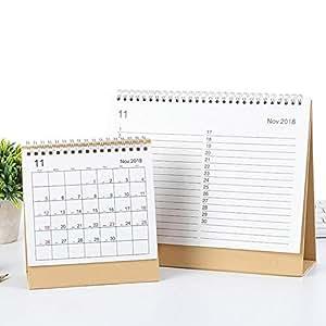 Futurelast 2018-2019 - Calendario de escritorio con tapa y