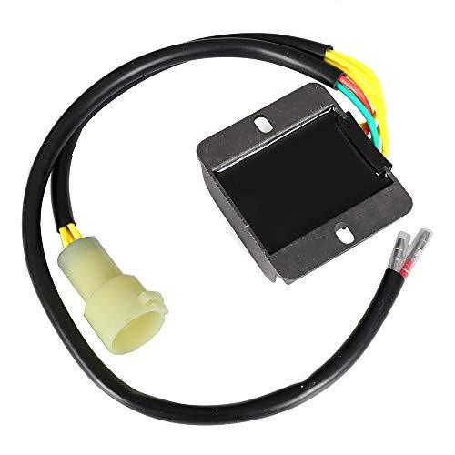 OCPTY Voltage Regulator Rectifier Fits 2002-2009 2012-2014 Suzuki Ozark 250 2004-2009 Suzuki Quadsport Z250 2003-2008 Suzuki Quadsport Z400