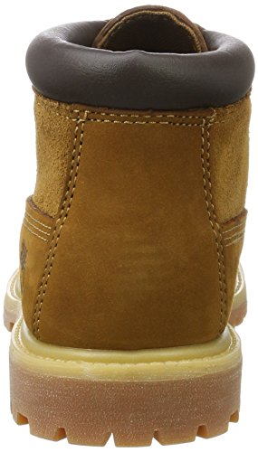 Chukka Timberland Suede Women's Nellie Brown Non and Leather Rust Waterproof wBw10rq