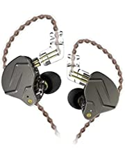 Fone de Ouvido KZ ZSN PRO Retorno de Palco Intra Auricular Brinde Case (Preto Sem Microfone)