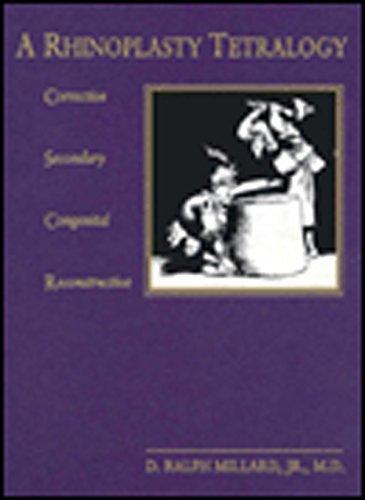 Rhinoplasty Tetralogy: Corrective, Secondary, Congenital, Reconstructive