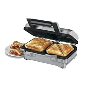 waring wosm1u stainless steel deep fill sandwich maker. Black Bedroom Furniture Sets. Home Design Ideas