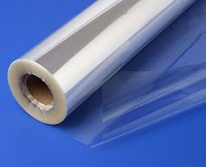 Papel Celofán Transparente para Envolver Rollo de 10m x 80cm. Papel Celofán de Calidad para Envolver Ramo / Regalos / Cesto / Canasta