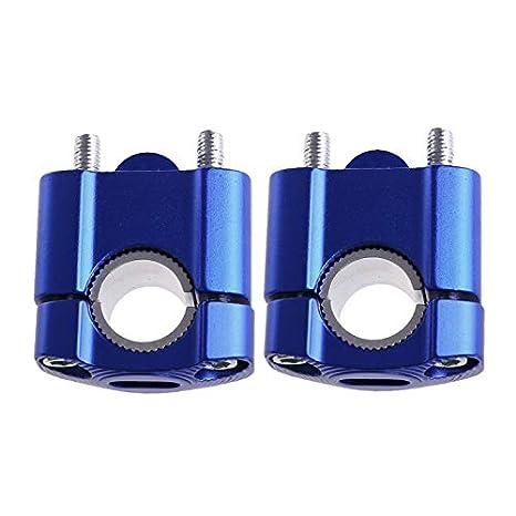 MASO Support de Guidon de Moto Universel pour Guidon de Moto Compatible avec Barres de Serrage en Alliage daluminium 22 mm 28 mm