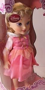 Amazon Com Disney Toddler Doll 16 Quot Aurora Sleeping