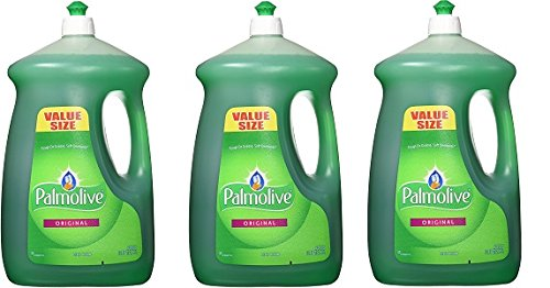 Palmolive Liquid Dish Soap, Original - 90 fluid ounce (3-Pack) by Palmolive