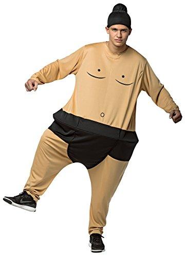 UHC Boy's Sumo Hoopster Funny Japanese Wrestler Theme Fancy Dress Child Costume, Child M (Toddler Sumo Wrestler Costume)