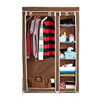 Harisons Homes Foldable Wardrobe with 5 Selves