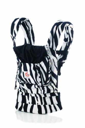 Ergobaby Original Baby Carrier, Zebra Discontinued by Manufacturer