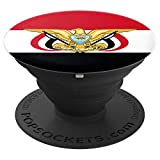 Yemen Yemeni Flag - PopSockets Grip and Stand for Phones and Tablets