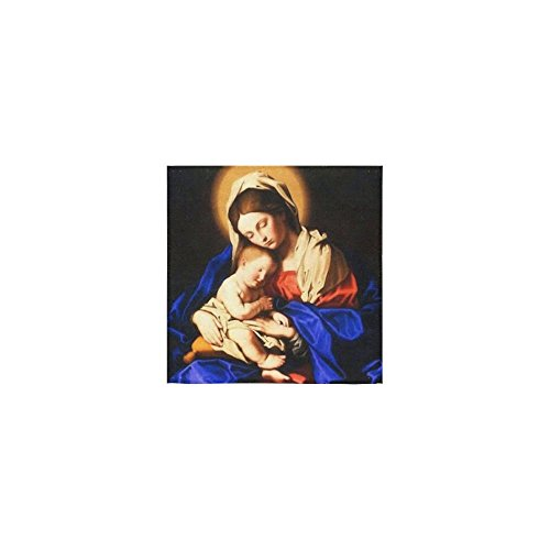 Christmas/Thanksgiving Day Towels Christian Catholic Catholic Gift Vingin Mary and Baby Jesus Thin Soft Towel(One Side)(13x13inches) by Virgin Marry Towel