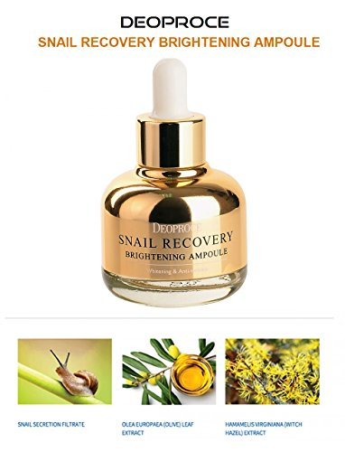 Cheap Korean Cosmetics Deoproce Snail Repair Brightening Serum and Anti-Wrinkle Skin Tightening and Whitening Improvement