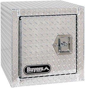 1705203 18x18x30 Inch Buyers Products Diamond Tread Aluminum Underbody Truck Box w//Barn Door