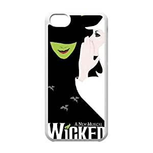 iphone5c phone case White for wicked broadway - EERT3404055