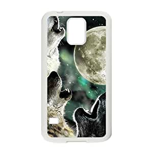 Howling under moon Sirius Cell Phone Case for Samsung Galaxy S5