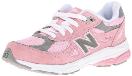 New Balance KJ990 Grade Running Shoe (Big Kid),Pink,5.5 M US Big Kid