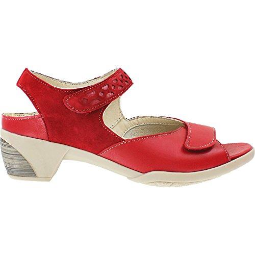 Fidelio Kvinna 26-5042-16 Ana Rött Läder Rött Läder