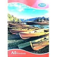 Ankit A5 Notebook, Single line, Soft Bond, 172 Pages (Pack of 2)