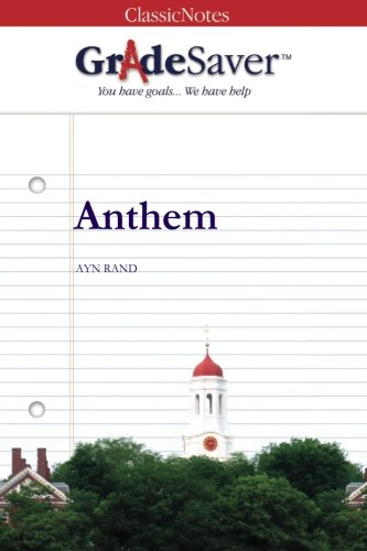 Anthem Study Guide GradeSaver