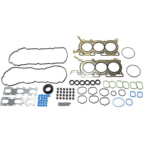 Head Gasket Set compatible with FORD EDGE/MKX 07-10 / TAURUS 08-12 6 Cyl 3.5L eng.