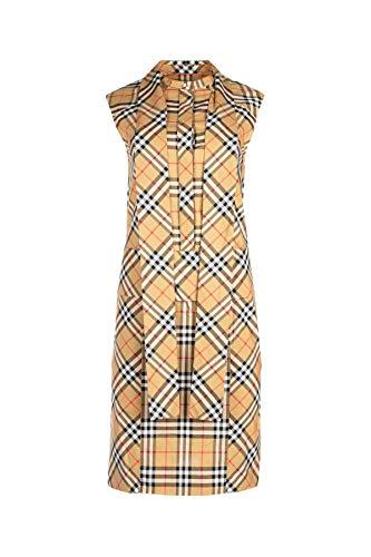 Donna Marrone Cotone 8004561 Vestito Burberry AgU0W