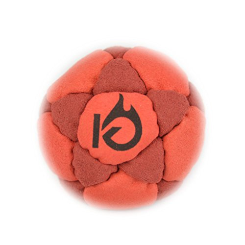 KickFire Classics KickFire StarSacks Taurus Sand Filled Hacky Sack Leather Footbag   32 Custom-Made Panels   Bonus Video Quick Start Tips   Best for Kids, Teens & Adults   Available in Six Colors (Sack Filled Hacky)