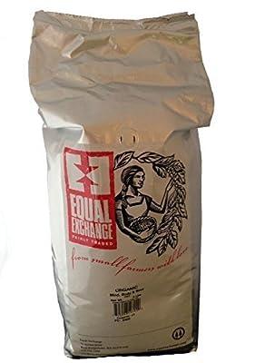 Equal Exchange USDA Organic Mind, Body & Soul Whole Bean Coffee- 5 Lb Bag by Equal Exchange
