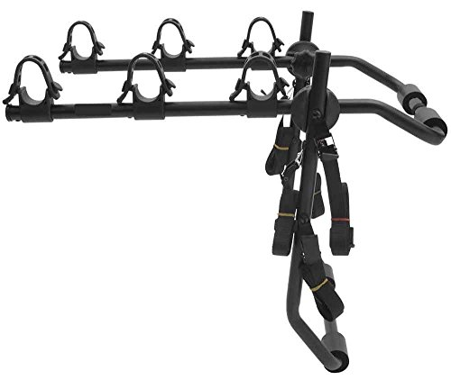 Ez Schlep Deluxe 3-Bike Trunk Mount Rack