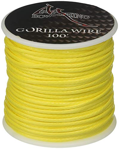 RPM Bowfishing Gorilla Wire 100'. Yellow