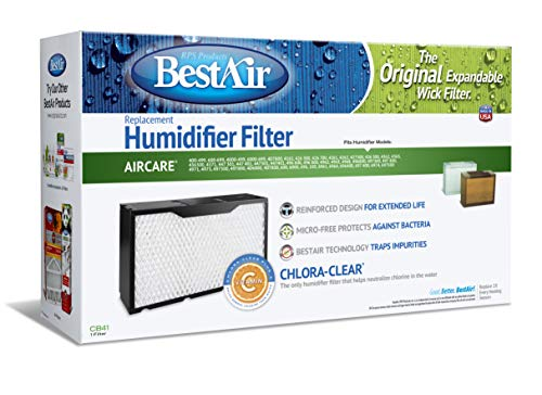 1041 Replacement, Paper Wick Humidifier Filter, 17
