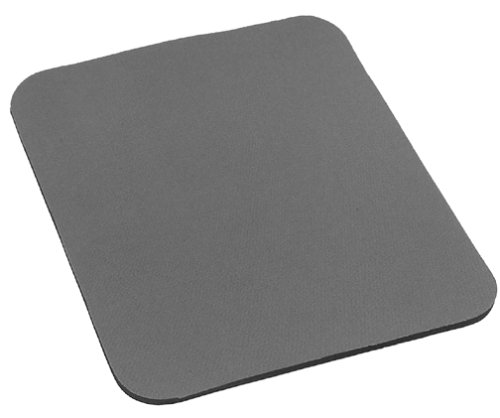Belkin Standard 7.9-Inch by 9.8-Inch Mouse Pad with Neoprene Backing and Jersey Surface (Gray)
