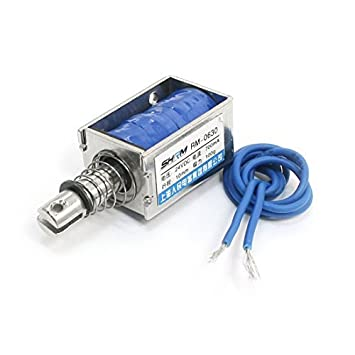DC24V 700mA 100 g / 10 mm de tracción Tipo de bastidor abierto electroimán del solenoide