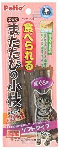 ペティオ (Petio) 猫用おやつ まるでまたたびの小枝ソフトタイプ 8本入 またたび M サイズ