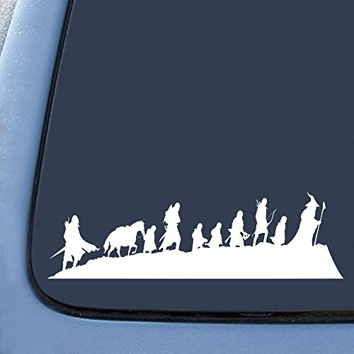 the lord of the rings car decal - 1