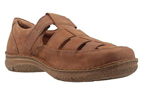 JOSEF SEIBEL - Herren offene Halbschuhe - Anvers 34 - Braun Schuhe in Übergrößen