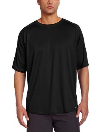 Russell Athletic Men's Dri-Power Raglan Tee, Black, Small