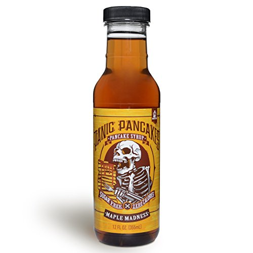 Panic Pancakes Pancake Syrup by Sinister Labs - (12 oz bottle) (Maple Madness, ()