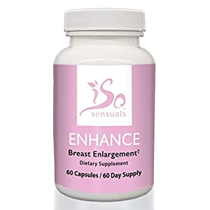 IsoSensuals ENHANCE | Breast Enlargement Pills (60 Day Supply)