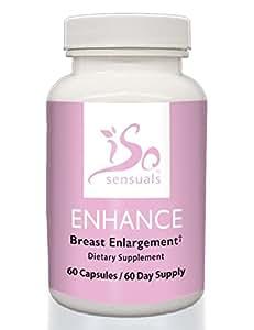 IsoSensuals ENHANCE | Breast Enlargement Pills (60 Day Supply)
