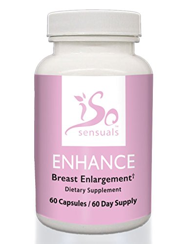 IsoSensuals Enhance Breast Enlargement Pills (60 Day Supply) (Best Breast Enhancement Pills Reviews)