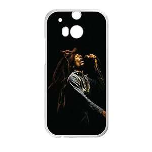 Clzpg DIY HTC One M8 Case - Bob Marley cell phone case