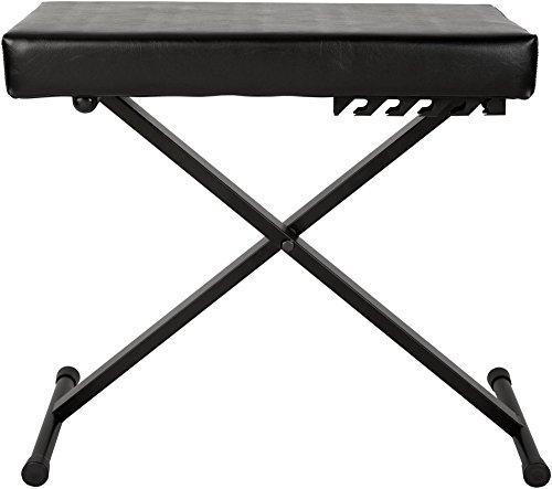 Musician's Gear Deluxe Keyboard Bench