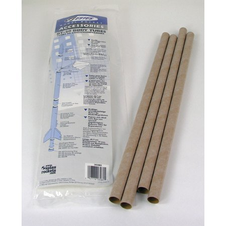 303085 BT-20 Body Tube (4) (Model Rocket Tubes)
