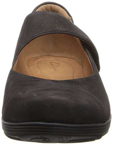 Clarks Mary Jane Women's Black Muse Aubria qqxrHwOR